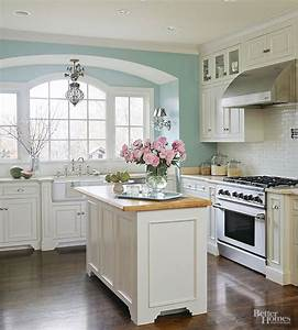 before and after kitchen makeovers tile paint colours With kitchen colors with white cabinets with wall art blue