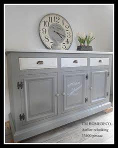 buffet vintage patine gris ardoise revisite par l With relooking de meubles anciens 7 avant apras en noir et bois ma bulle