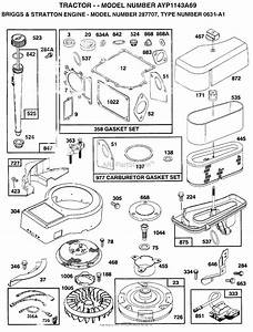 Ayp  Electrolux Ayp1143a69  1996  Parts Diagram For Engine