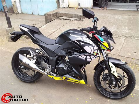 Kawasaki Z250 Modification by Z250 Vr46 Indonesia 004 Motomalaya
