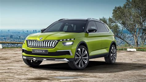 The Skoda Vision X Concept Is A Hybrid Natural Gas