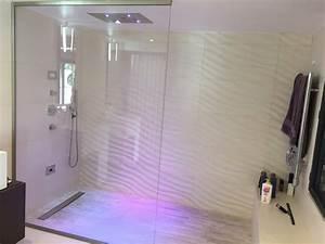 Salle De Bain à L Italienne : cr ation d une salle de bains avec douche l italienne ~ Dailycaller-alerts.com Idées de Décoration