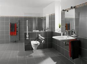 Bad Fliesen Gestaltung : beispiel barrierefreies bad von b hre ~ Markanthonyermac.com Haus und Dekorationen