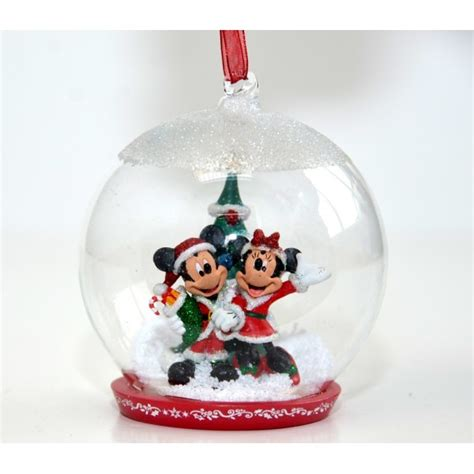 mickey  minnie mouse christmas bauble