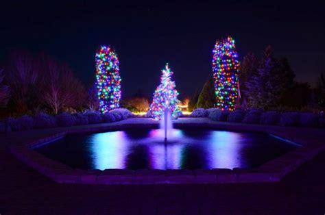 take this magical christmas lights road trip through
