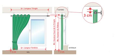rideau de sur mesure comment mesurer votre rideau avec oeillets