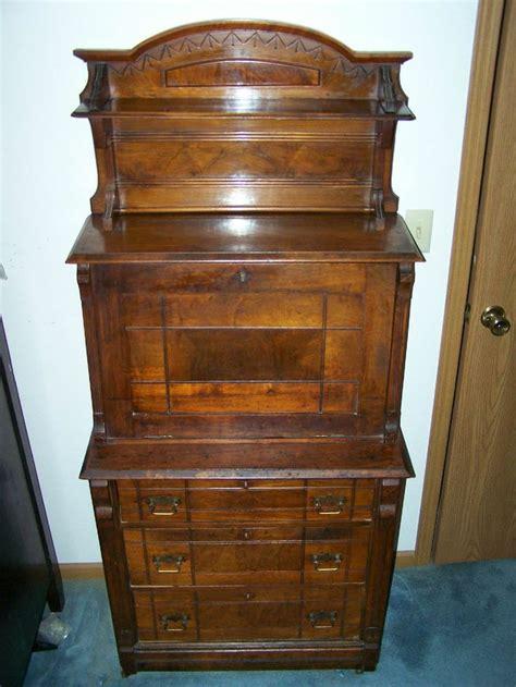 drop down secretary desk secretary desk slant drop down front with bookcase and
