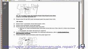Ford F150 2009 2010 Service Manual And Workshop