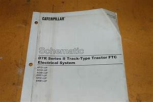 Caterpillar D7r Tractor Crawler Dozer Electrical Schematic Wiring Diagram Manual