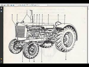 Massey Ferguson Mf135 Parts Manual 160pg With Mf 135 Tractor