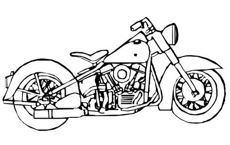 Desenhos para colorir desenhar e pintar : Desenhos de motos