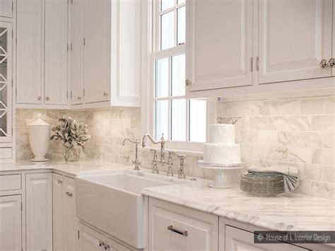 carrara marble kitchen backsplash kitchen carrara marble beveled white subway tile