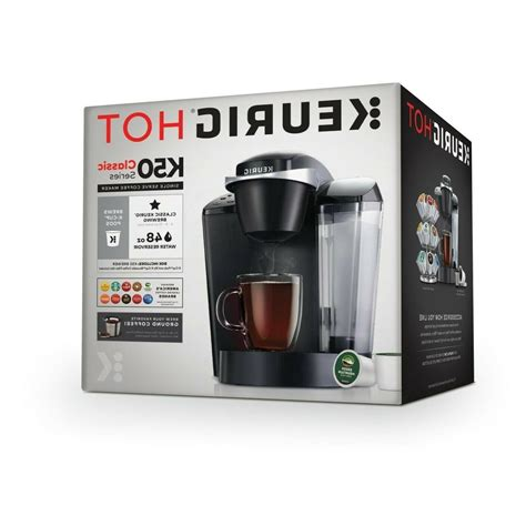 To start with, the coffee maker comes with one of the largest tanks. Coffee Maker Keurig - K- Classic K50 Single