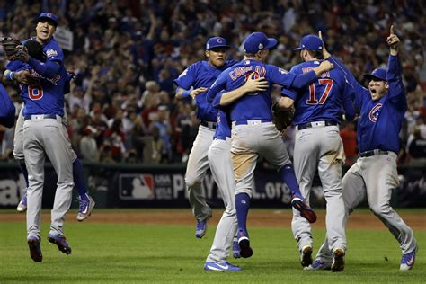 Cubs Win 1st World Series Since 1908, Holding Off Indians