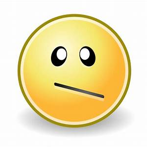 Confused Smiley Face - Cliparts.co