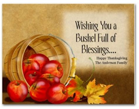 printable fall blessings card template
