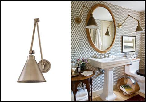 unconventional gooseneck lighting   bathroom vanity
