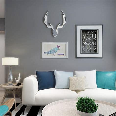 modern fashion cement  wallpaper plain dark grey wall