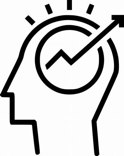 Strategy Icon Business Idea Svg Entrepreneurship Mind