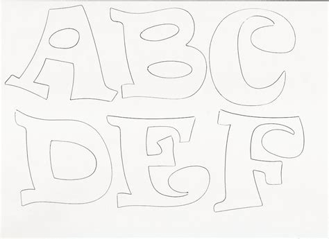 molde de letras para imprimir imagui letratec y logos proyectos que intentar molde