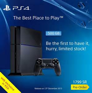 Sony PlayStation 4 Price