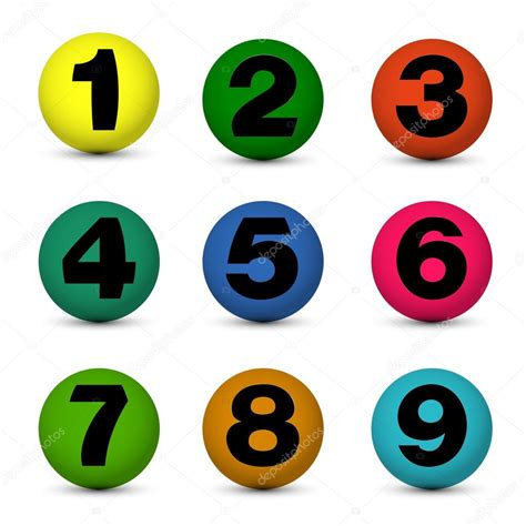 number balls stock vector mdesignstudio 12885915