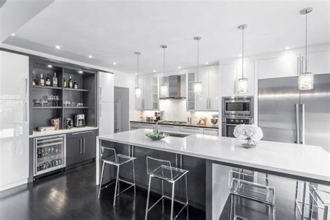 gray and white kitchen ideas modern white and grey kitchen designs kitchen and decor