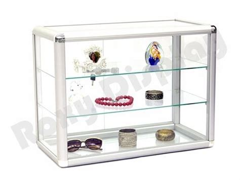 Countertop Display Cases - glass countertop display store fixture showcase with