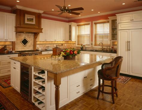 Kitchen With Center Island  Kitchen  Minneapolis  By