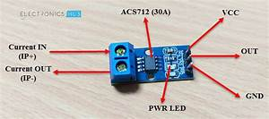 Interfacing Acs712 Current Sensor With Arduino