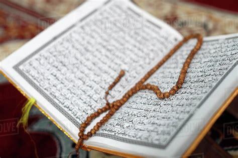 Arabic Holy Quran (koran) With Prayer Beads (tasbih