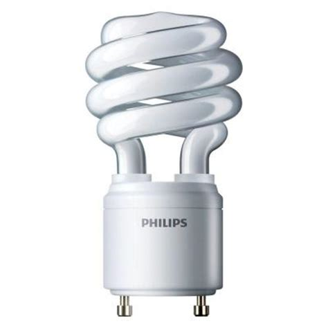 philips 60w equivalent bright white 4100k spiral gu24