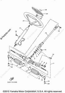 Yamaha Side By Side 2006 Oem Parts Diagram For Steering