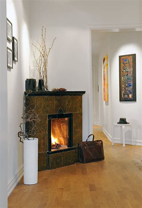 decorating  corner fireplace native home garden design