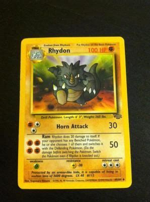 216 (202 normal, 14 secret). Rhydon Pokemon Card #2 | Pokemon cards, Pokemon, Pokemon collection