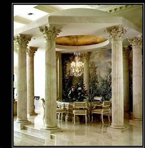 Architectural columns wood columns composite fiberglass for Decorative interior wall columns