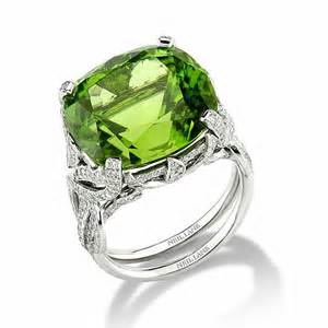 peridot wedding rings neil style 01417 and green peridot engagement ring engagement rings photos