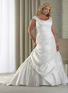 Plus size mermaid style wedding dress styles of wedding for Wedding dress styles for plus size