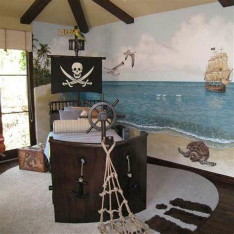 Kinderzimmer Junge Pirat by Kinderbett Selber Bauen Pirat Interessante Wandgestaltung