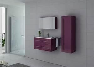 Meuble Simple Vasque : ensemble de meuble de salle de bain 90 cm nova meuble de salle de bain 1 vasque 90 cm distribain ~ Teatrodelosmanantiales.com Idées de Décoration