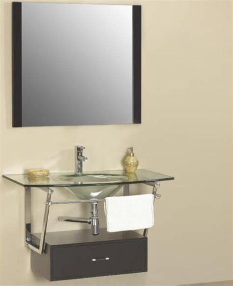 dreamline dlvg 108 bk modern bathroom glass vanity cabinet