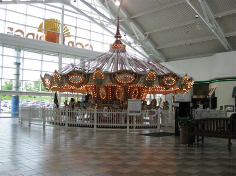 landmarkhuntercom cedar ridge mall carousel