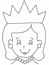 Queen Coloring Colouring sketch template