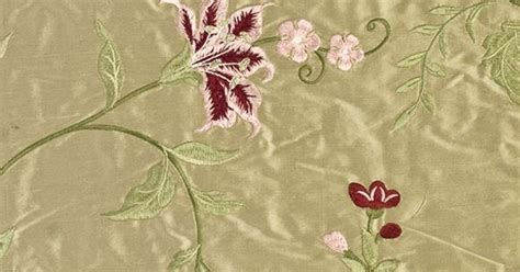embroidered silk drapery fabric embroidered silk curtain