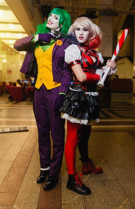 Fem Joker And Harley Quinn Cosplay By Hydraevil On