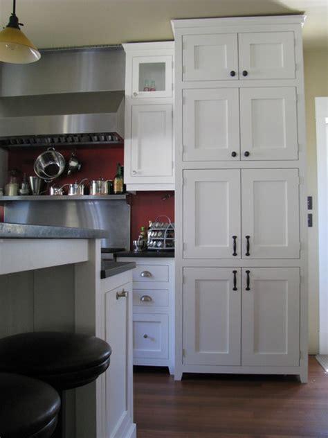 white craftsman style traditional kitchen craftsman