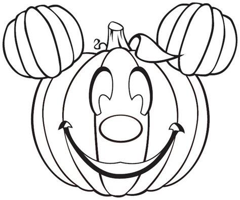 dessin citrouille a imprimer coloriage citrouille mickey gratuit 224 imprimer