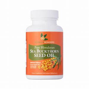 60-softgels Sea Buckthorn Seed Oil