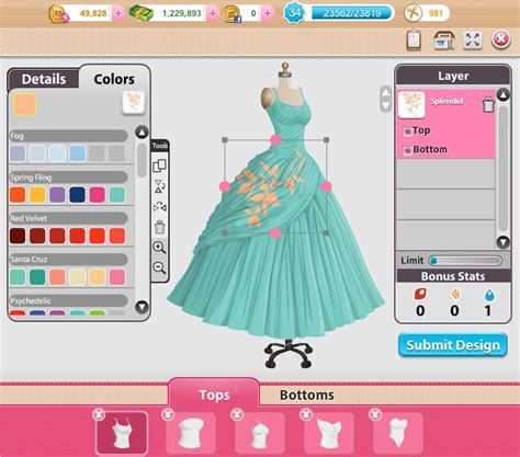 fashions designers games  hair style