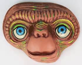 vintage  extra terrestrial halloween mask universal